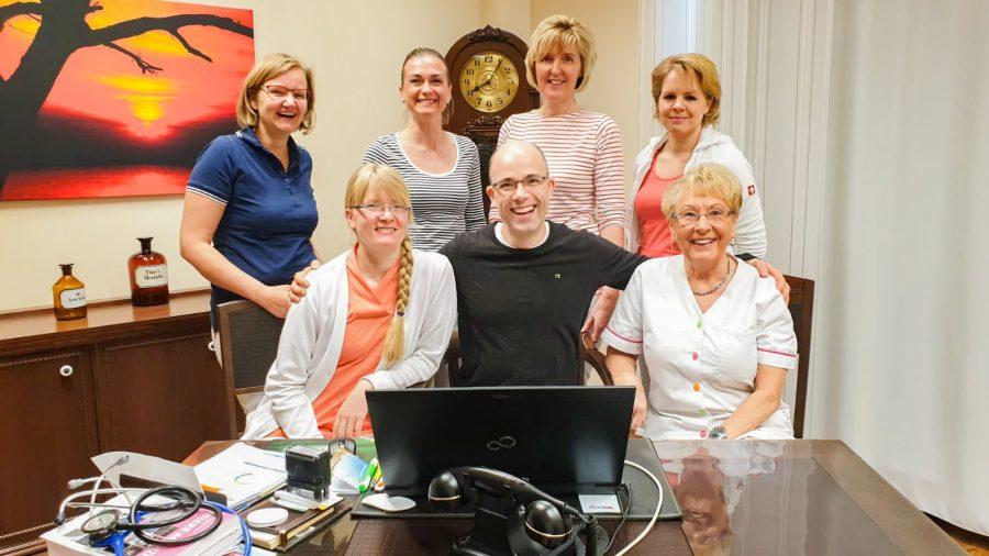 Team Hausarztpraxis am Haff